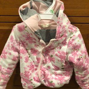 Burt's Bees Baby quilted sweatshirt